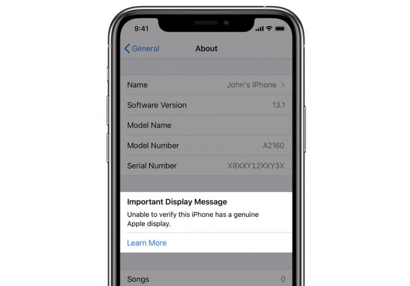 iPhone 11 Akan Beri Notifikasi Jika Layar yang Dipakai Tidak Asli