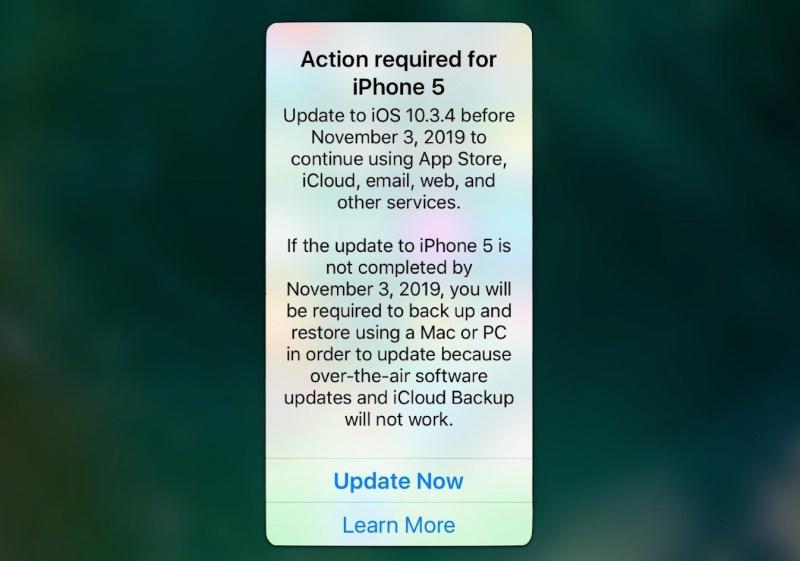 Pengguna iPhone 5 dan iPhone 4s HARUS Update ke iOS Terbaru Sebelum 3 November 2019