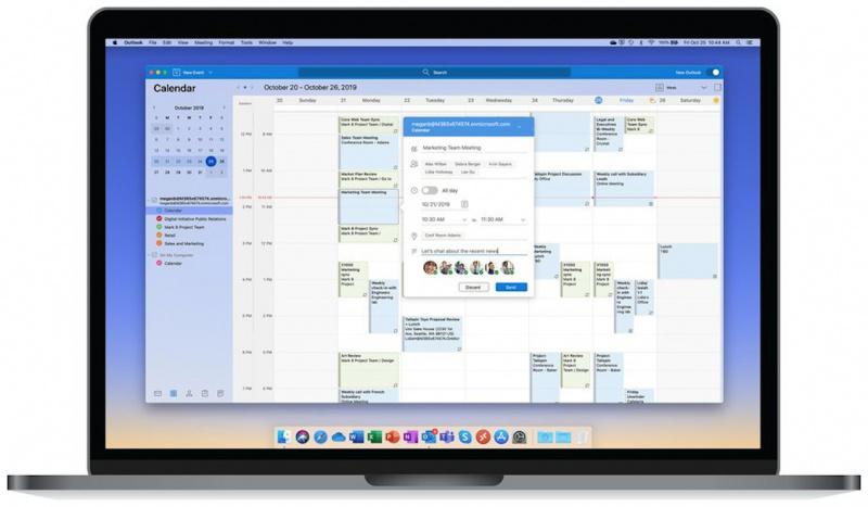 Microsoft Outlook for Mac Hadir Dengan Tampilan Baru