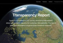 Apple Resmi Merilis Laporan Transparency Reports