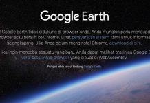 Google Earth versi Web Ternyata Tidak Support Safari