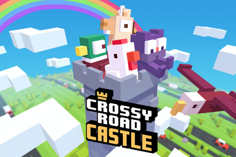 Game Crossy Road Castle Kini Tersedia di Apple Arcade