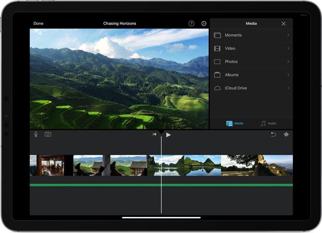 Update iMovie Kini Mendukung Trackpad iPadOS