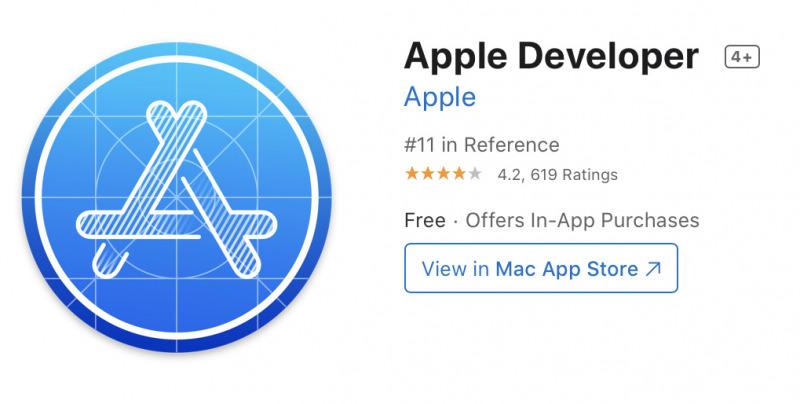Aplikasi Apple Developer Akhirnya Hadir untuk Mac
