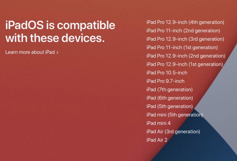 Inilah iPad yang Dapat Update ke iPadOS 14 Terbaru