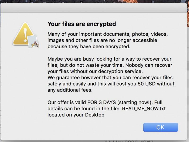 Ransomware Baru Ditemukan di Aplikasi Mac Bajakan