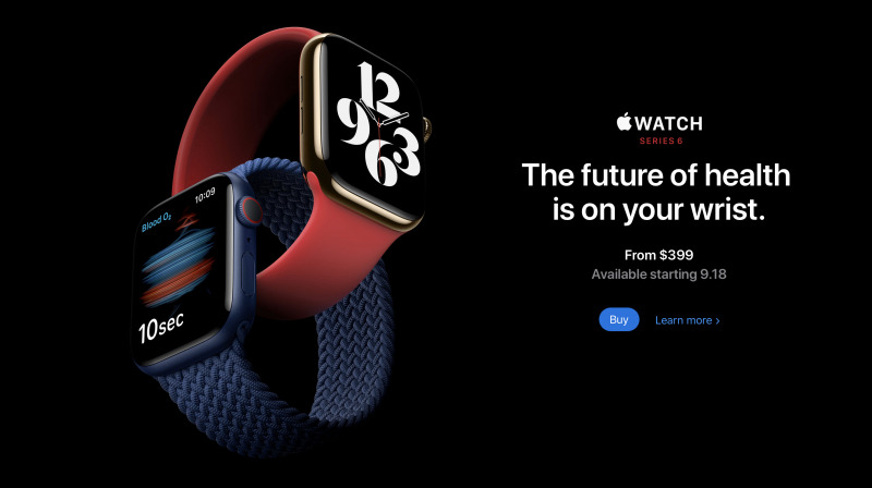 Apple Watch Series 6 Resmi Diperkenalkan