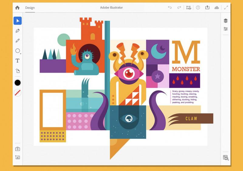 Adobe Illustrator Resmi Dirilis ke iPad
