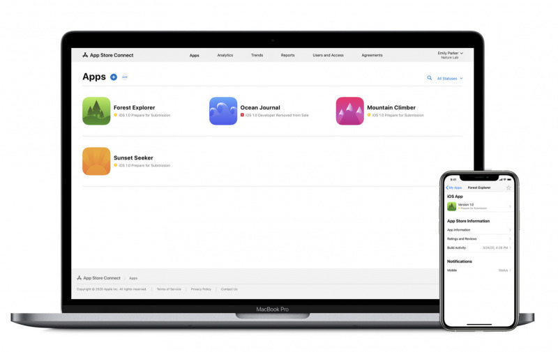 Ikon Baru, App Store Connect Juga Tambah Integrasi TestFlight