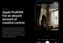 Format Foto Mentah Apple ProRaw Resmi Diperkenalkan