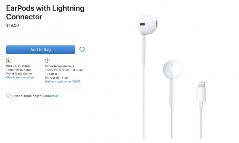 Apple Turunkan Harga EarPods Sebesar $10
