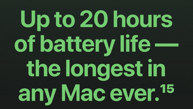 Chip M1 Bikin Daya Tahan Baterai MacBook Naik Drastis