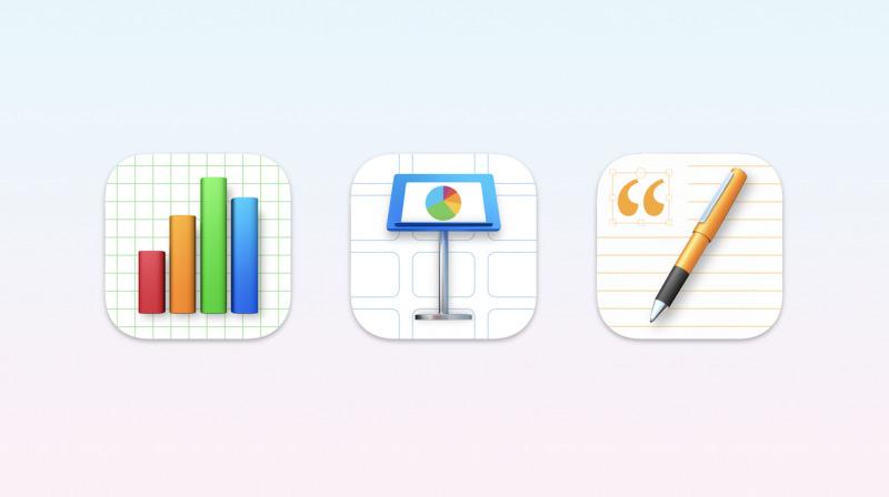 Apple Rilis Update iWork, iMovie dan GarageBand Dengan Ikon Baru