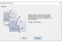 Windows Migration Assistant Kini Support macOS Big Sur