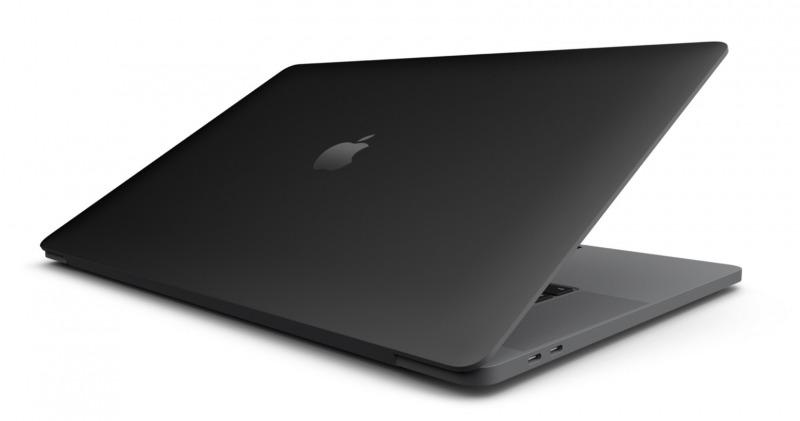 Apple Siapkan MacBook Warna Matter Black?