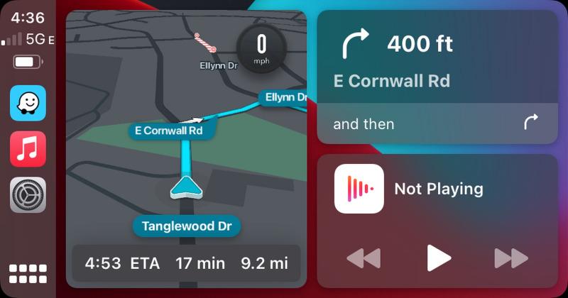 Waze Akhirnya Support CarPlay Dashboard