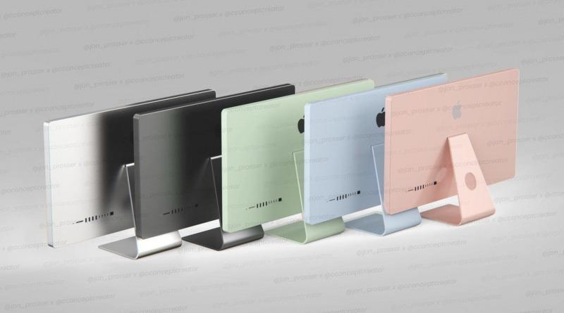 iMac 2021 Siap Dirilis dengan 5 Pilihan Warna