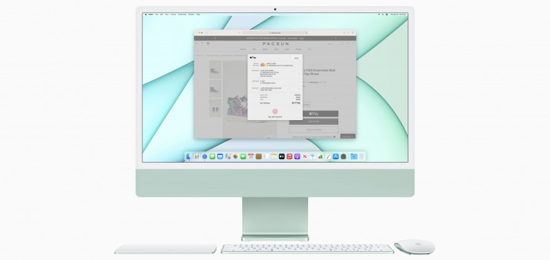 iMac M1 Dibekali Magic Mouse, Trackpad, dan Keyboard Touch ID Warna-Warni