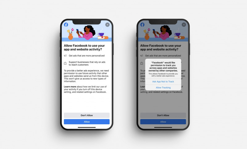 Facebook Minta Pengguna iOS 14 Aktifkan Tracking Demi Iklan