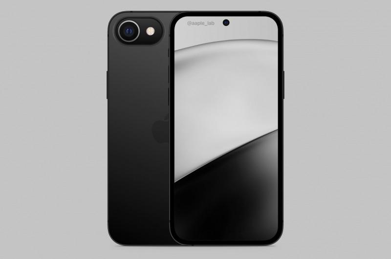 Konsep iPhone SE 2022, Layar Penuh dan Punya Punch Hole?