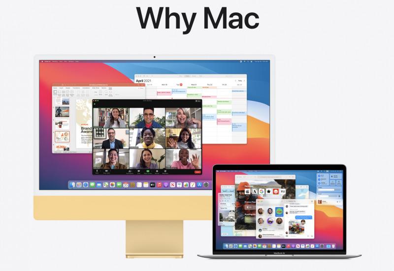 Apple Tunjukkan Alasan Kenapa Harus Pake Mac via Halaman Web Baru