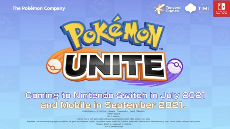 Game Pokemon UNITE Akan Dirilis ke App Store Pada September 2021
