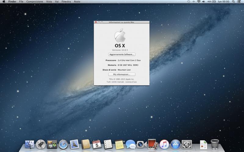 Apple Rilis Mac OS X Lion dan Mountain Lion Secara Gratis