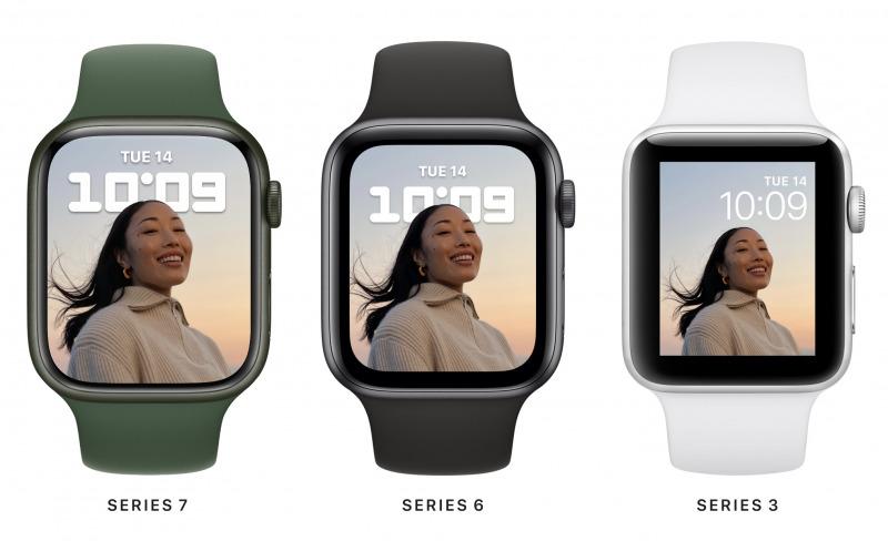 Apple Watch Series 7 Mendukung Keyboard On-Screen Secara Langsung