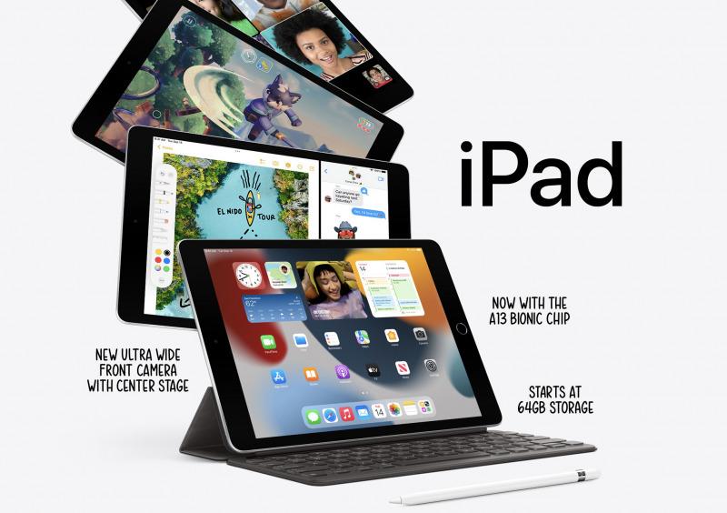 Apple Resmi Perkenalkan iPad 9 Dengan Chip dan Kamera Baru