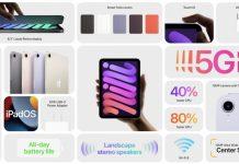 Apple Resmi Perkenalkan iPad Mini Dengan Desain Baru Tanpa Tombol Home