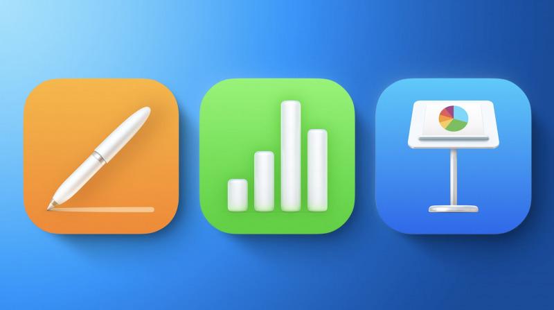 Update Pages, Numbers dan Keynote Bawa Fitur Baru dan Icon Baru