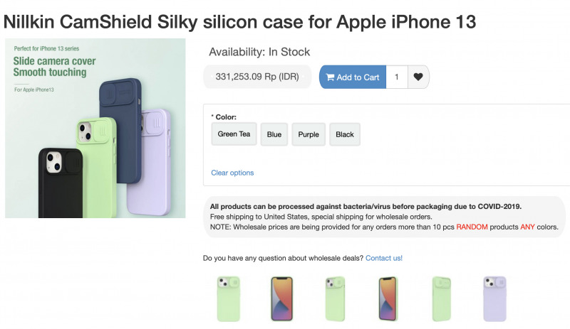 Nillkin Sudah Resmi Jualan Case iPhone 13