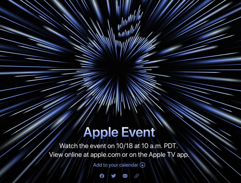 Apple Akan Gelar Acara 18 Oktober 2021, Siap Rilis Mac M1X Baru